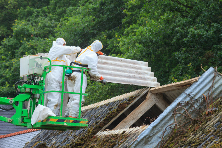 Removing and disposal of asbestos